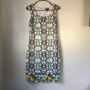 The Limited Italian Tile Dress
